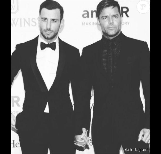 Ricky Martin et Jwan Yosef officialisent leur amour, le 15 avril 2016.