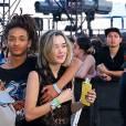 Jaden Smith et Sarah Snyderlors du festival de musique de Coachella le 16Avril 2016.