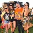 Alessandra Ambrosio - Week-end 1, Jour 2 du festival Coachella à Indio, le 16 avril 2016.