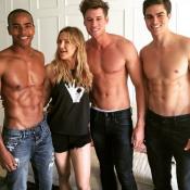 Kate Hudson : Réveillée par trois beaux gosses torse nu pour son anniversaire