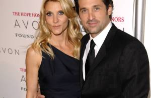 REPORTAGE PHOTOS : Quand Patrick Dempsey sort sa femme... attention les yeux !