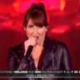 Mélanie, dans  Nouvelle Star 2016  (demi-finale) sur D8, le mardi 26 avril 2016.