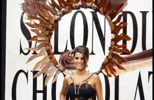 REPORTAGE PHOTOS : Karine Ferri, rayon de soleil du Salon du Chocolat!