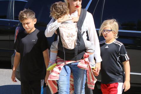 Gwen Stefani : Blake Shelton joueur avec ses enfants avant la sortie de leur duo