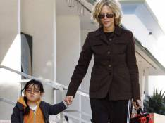 REPORTAGE PHOTOS : Meg Ryan, sa fille est... à croquer !