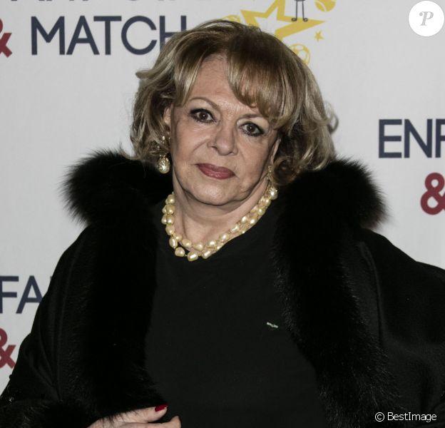 """Michèle Mercier - Dîner de gala de l'association """"Enfant Star & Match"""" à l'hôtel Carlton à Cannes. Le 30 janvier 2016"""
