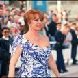 Michèle Mercier au Festival de Cannes en 1991