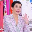 """Cristina Cordula dans """"Les Reines du shopping"""" sur M6, le 10 mai 2016."""