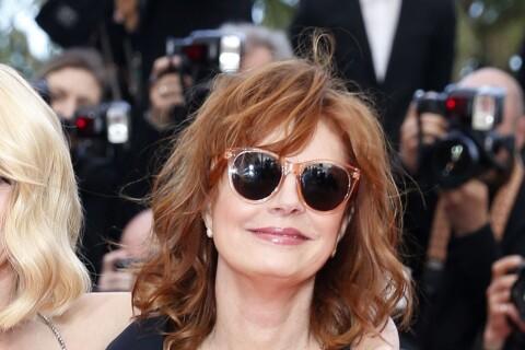 Susan Sarandon généreusement décolletée et complice avec Naomi Watts à Cannes