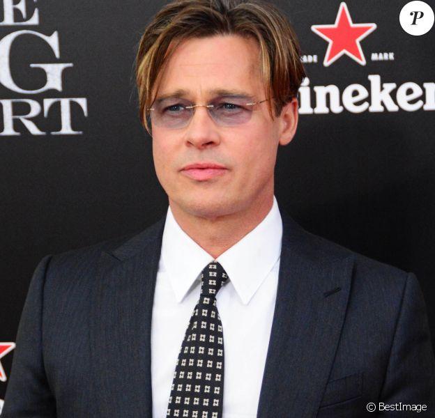 "Brad Pitt - Première de ""The Big Short"" à New York le 23 novembre 2015."