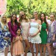Kylie Richards a publié une photo de la baby-shower de Nicky Hilton, sur sa page Instagram. Le 13 mai 2016.