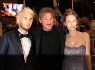 Sean Penn, papa célibataire à Cannes, soutenu par ses enfants Dylan et Hopper