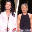 Naomi Kawase et Marina Foïs remettent la Palme d'or du court métrage