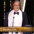 Jean-Pierre Léaud, Palme d'honneur 2016.