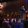 Ibrahim Maalouf et L.E.J. lors de la cérémonie de clôture du Festival de Cannes 2016.