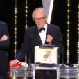 Ken Loach a remporté sa deuxième Palme d'or avec Moi, Daniel Blake, lors du Festival de Cannes 2016.