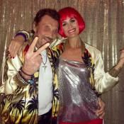 Johnny et Laeticia Hallyday : Amoureux comme des ados sur la piste de roller !
