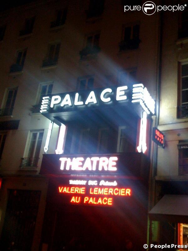 Les lumières du Palace à Paris le 04/11/2008