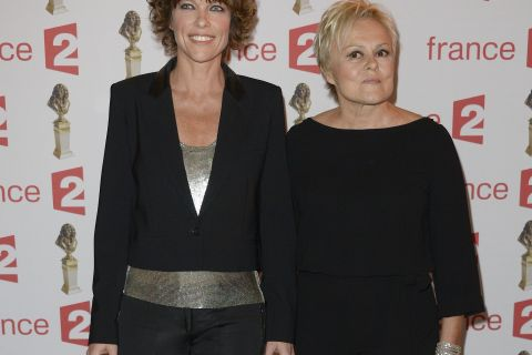 Molières 2016 : Muriel Robin, Julie Depardieu, Anouchka Delon bien accompagnées