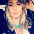 Aurélie Van Daelen en mode selfie. Mai 2016.