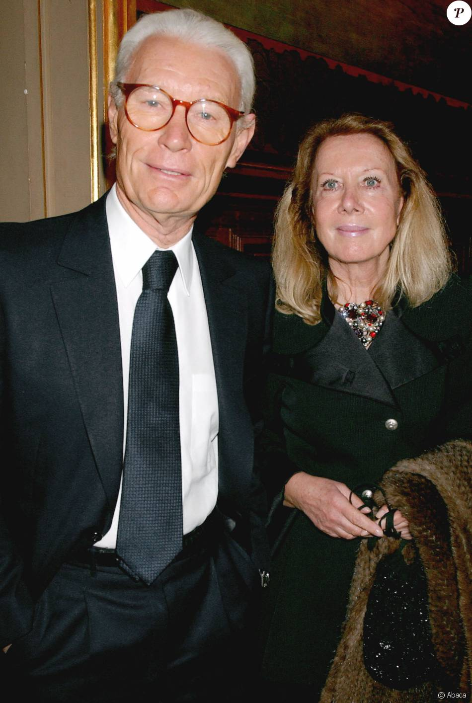 Jean claude decaux et sa femme paris en novembre 2004 - Jean francois balmer et sa femme ...