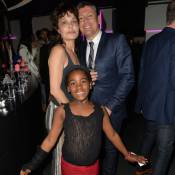 Isabelle Mergault et sa fille adoptive : Fol anniversaire avec Laurent Ruquier