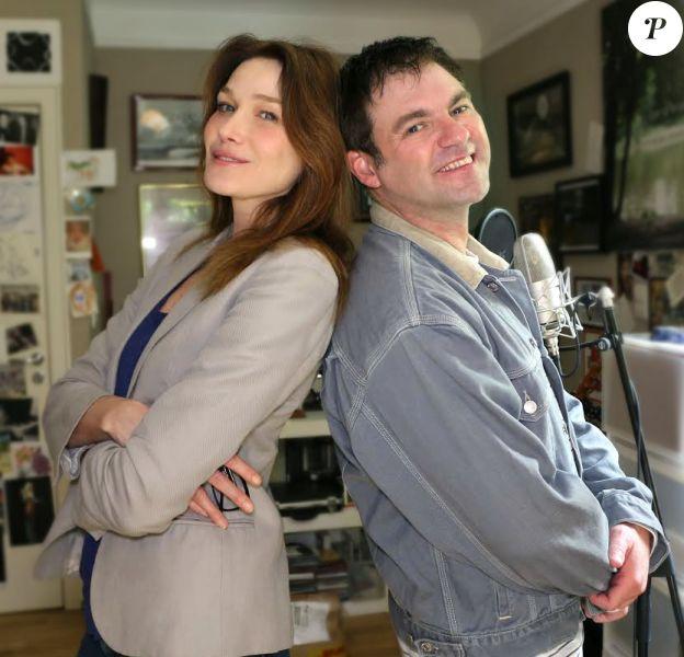 Carla Bruni et Thierry Gali s'unissent pour l'album Les mondes fantastiques.