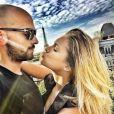 Clara Morgane et son époux fous d'amour à l'hotel Raphael