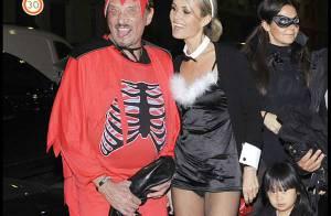 REPORTAGE PHOTOS EXCLUSIVES : Johnny Hallyday comme vous ne l'avez jamais vu... en Diable ! (réactualisé)