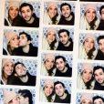 Adrien et sa compagne Victoria.