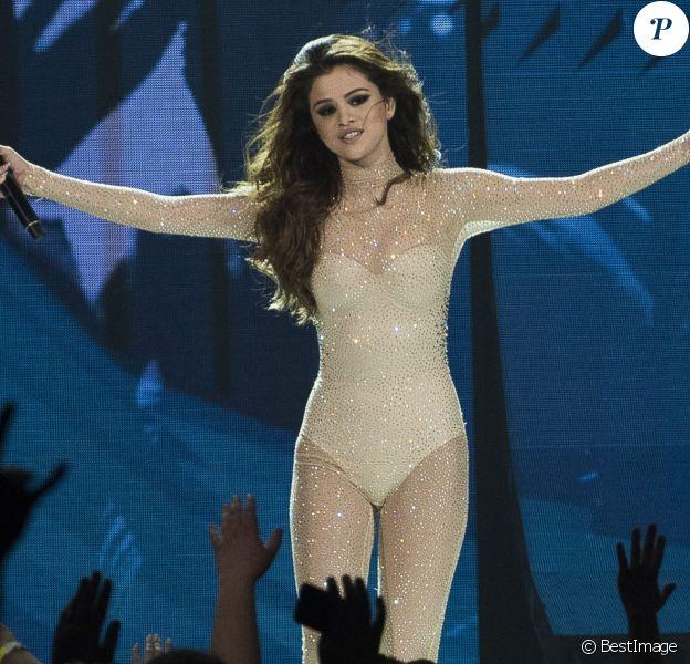 Selena Gomez en concert à Vancouver, le 15 mai 2016