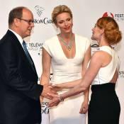 Charlene de Monaco étincelante, Louis Ducruet et Marie in love en soirée télé