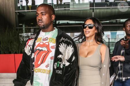 Kim Kardashian datant Kanye West 2010