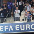 M. Pokora au match de l'Euro 2016 France-Albanie au Stade Vélodrome à Marseille, le 15 juin 2016. © Cyril Moreau/Bestimage