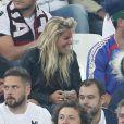 Sophie Tapie au match de l'Euro 2016 France-Albanie au Stade Vélodrome à Marseille, le 15 juin 2016. © Cyril Moreau/Bestimage