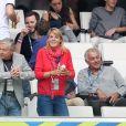 Nathalie Simon au match de l'Euro 2016 France-Albanie au Stade Vélodrome à Marseille, le 15 juin 2016. © Cyril Moreau/Bestimage