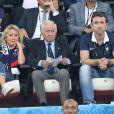 Michel Hidalgo au match de l'Euro 2016 France-Albanie au Stade Vélodrome à Marseille, le 15 juin 2016. © Cyril Moreau/Bestimage
