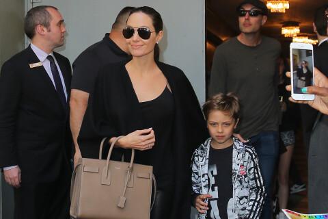Angelina Jolie : Moment détente à Broadway avec son frère, Maddox et Knox
