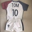 Ingrid Chauvin et Thierry Peythieu : Leur petit Tom déjà fan de foot !