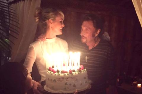 Johnny Hallyday : Pour ses 73 ans, Laeticia lui offre une fête marocaine...
