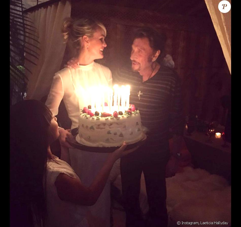 Johnny Hallyday : Pour Ses 73 Ans, Laeticia Lui Offre Une