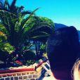 Chris Marques et sa femme en Corse pour le mariage d'Alizée, le 18 juin 2016