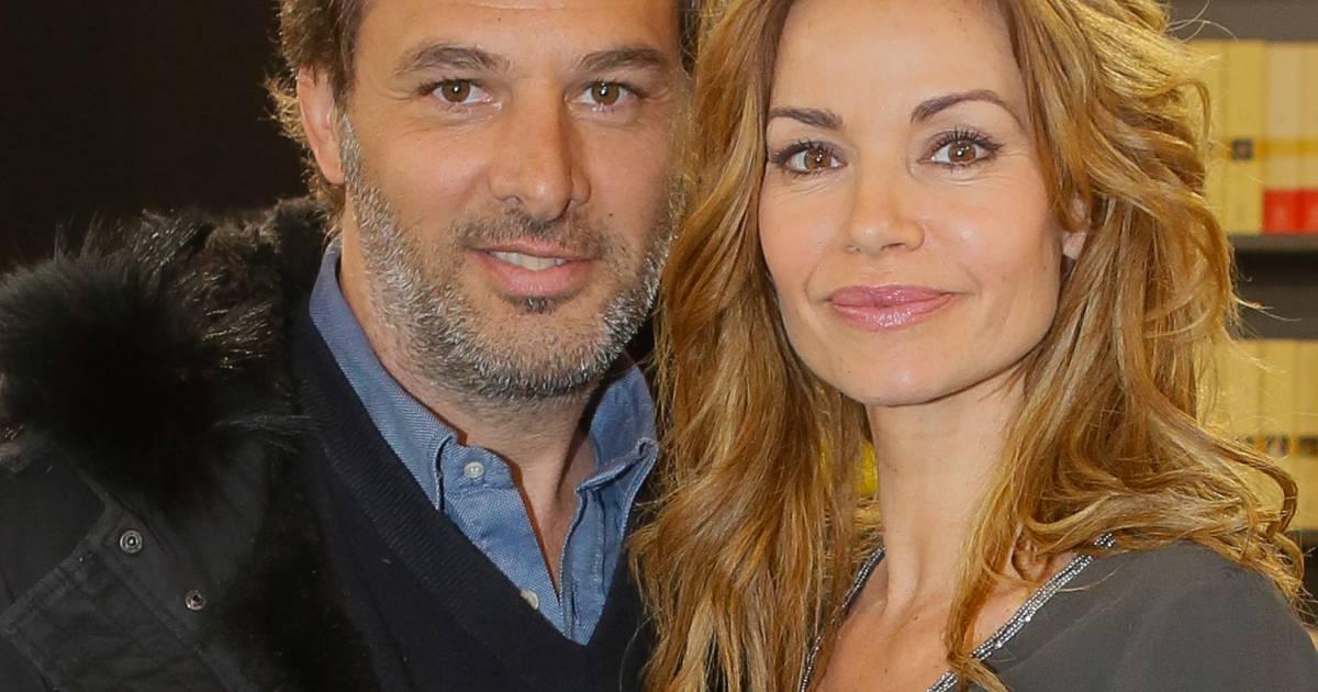 Ingrid chauvin et son mari thierry peythieu au salon du for Salon a porte de versaille 2015