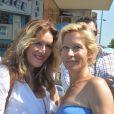 """Sandrine Alexi et Rebecca Hampton à la 5ème fête du """"Pointu"""" au Grau d'Agde le 25 juin 2016. © Robert Fages / Bestimage"""