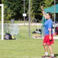 Semi-Exclusif - Anaïs Baydemir - People lors du tournoi de football Media Cup, un tournoi par équipe de production ou chaine de télévision, à Meudon. Le 2 juillet 2016