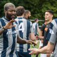 Semi-Exclusif - Djibril Cissé - People lors du tournoi de football Media Cup, un tournoi par équipe de production ou chaine de télévision, à Meudon. Le 2 juillet 2016