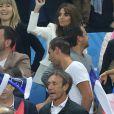 Claude Deschamps (la femme de Didier Deschamps) lors du match du quart de finale de l'UEFA Euro 2016 France-Islande au Stade de France à Saint-Denis, France le 3 juillet 2016. © Cyril Moreau/Bestimage