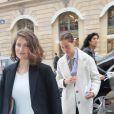 Laetitia Castaarrive au 26, place Vendôme pour assister au défilé de haute joaillerie Boucheron (collection 26 Vendôme). Paris, lee 4 juillet 2016. © CVS-Veeren / Bestimage