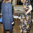 Isabelle Huppert et Julie Gayetassistent au défilé de haute joaillerie Boucheron à la maison Boucheron, au 26, place Vendôme. Paris, le 4 juillet 2016. © Olivier Borde / Bestimage