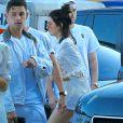 Kendall Jenner arriveà une fête privée au restaurant Nobu à Los Angeles, le 4 juillet 2016